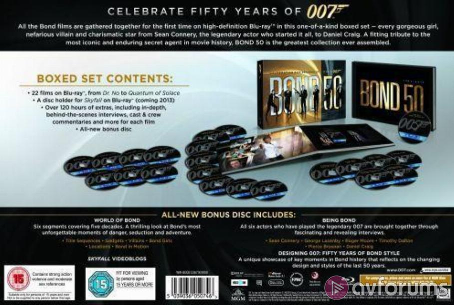 Diamonds Are Forever - Bond 50 Box Set Blu-ray Review