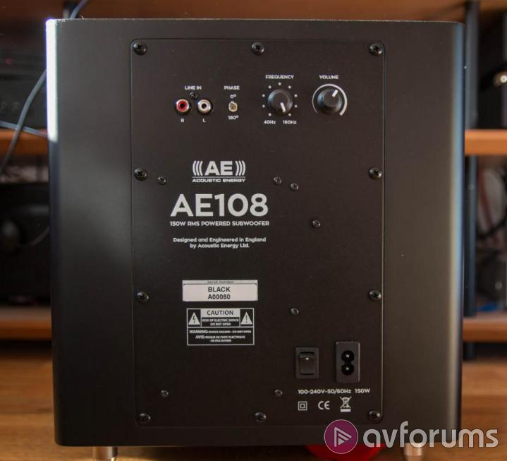 Acoustic Energy AE109 Sound Quality