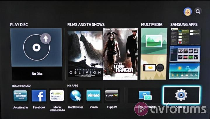 Samsung BD-J7500 Smart TV Features