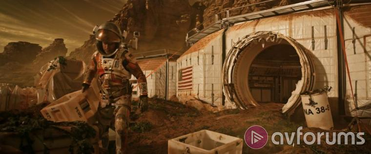 The Martian Blu-ray Extras