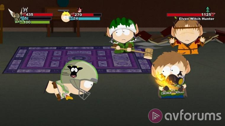 South Park: The Stick of Truth The game bit