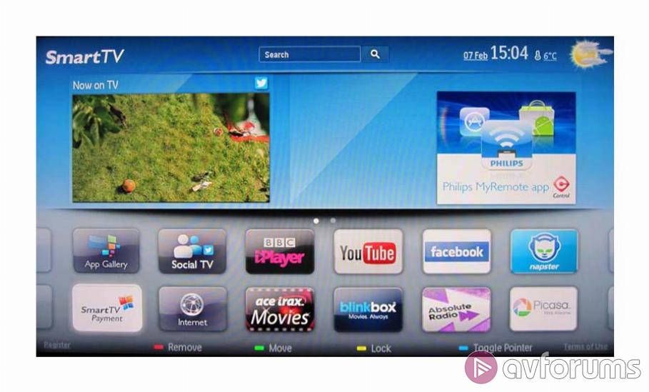 Philips Smart TV System 2012 Review