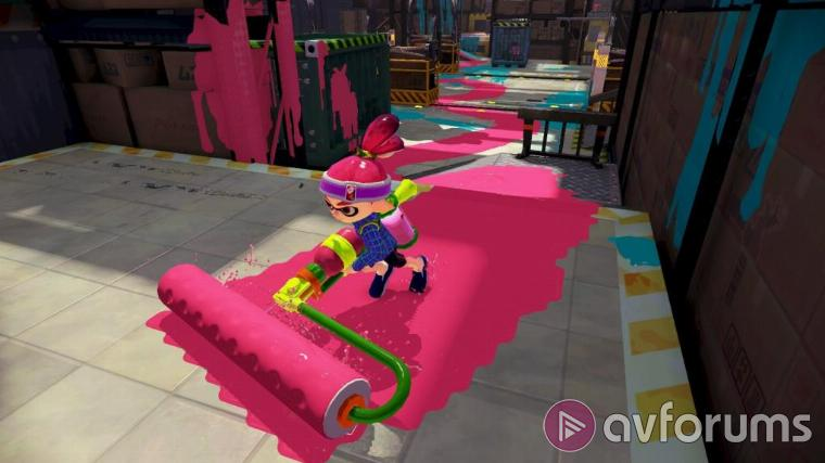 Splatoon Shoot everything