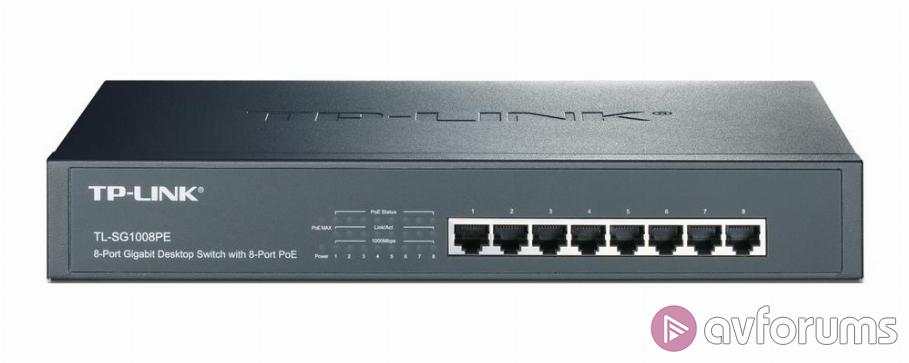 TP-LINK TL-SG1008PE Gigabit Desktop Switch