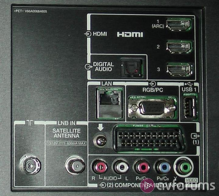 Toshiba 40TL968B Design & Connections