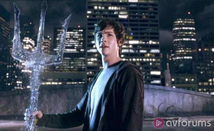 Percy Jackson & the Lightning Thief Blu-ray Review