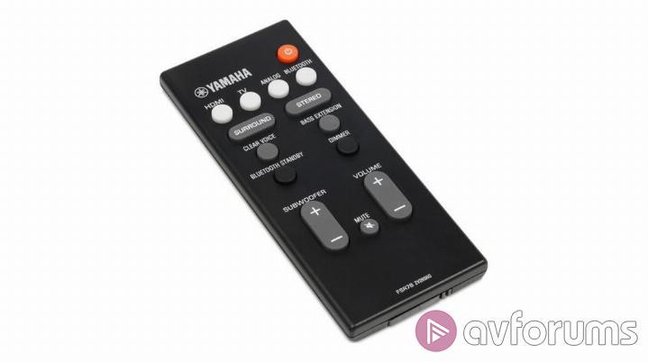 Yamaha YAS-107 Soundbar Review   AVForums