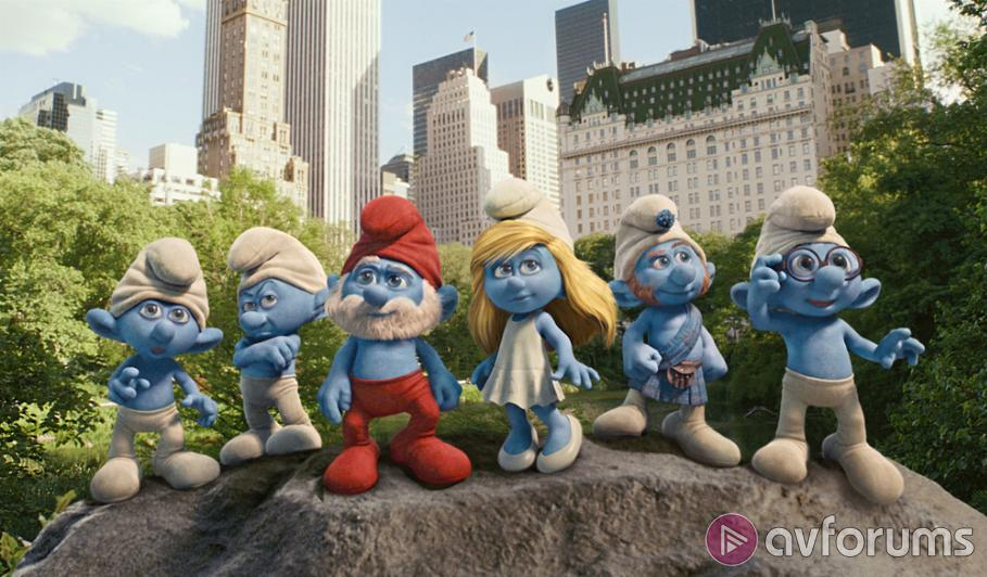 The Smurfs Ultra HD Blu-ray Review