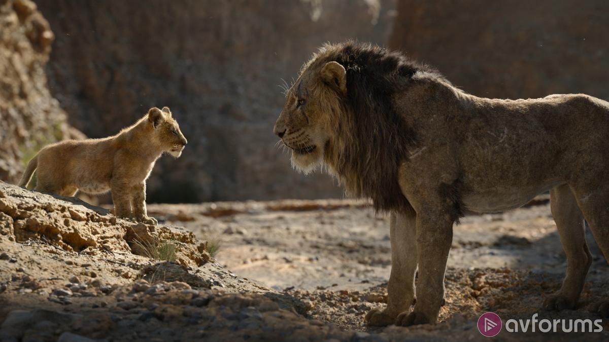 The Lion King (2019) 4K Blu-ray