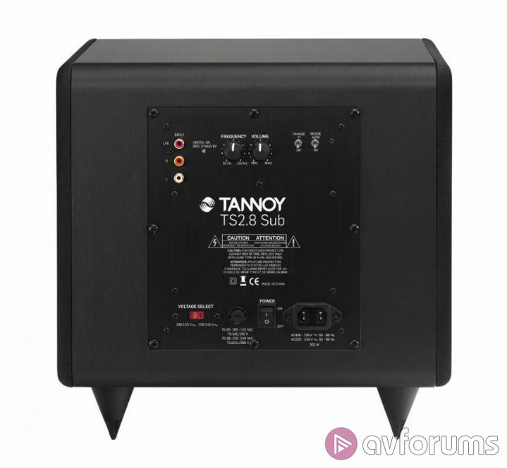 Tannoy HTS 101 XP  Tannoy HTS 101 XP- Performance with Film and TV