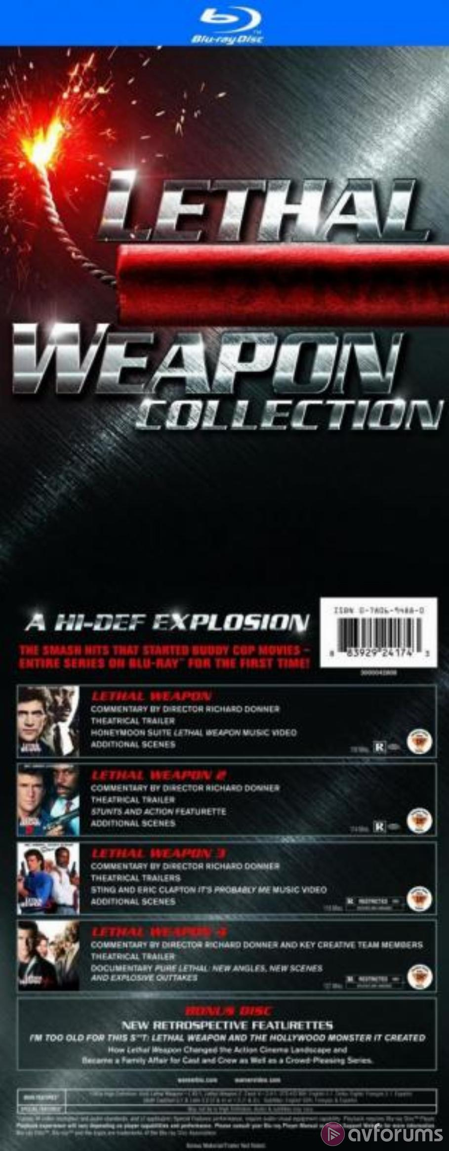 Lethal Weapon 3 (Lethal Weapon Collection) Blu-ray Review