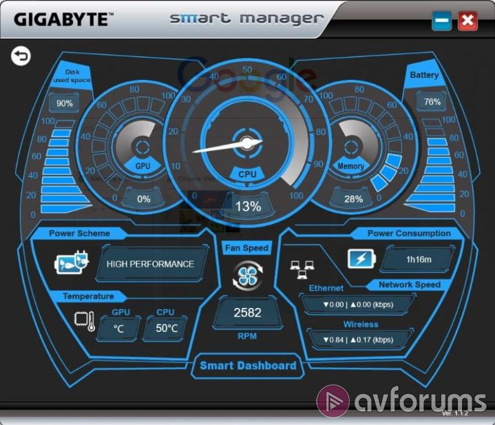 Gigabyte P34G v5 Pre-installed software