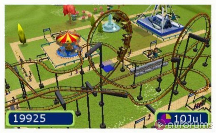 RollerCoaster Tycoon 3DS Review