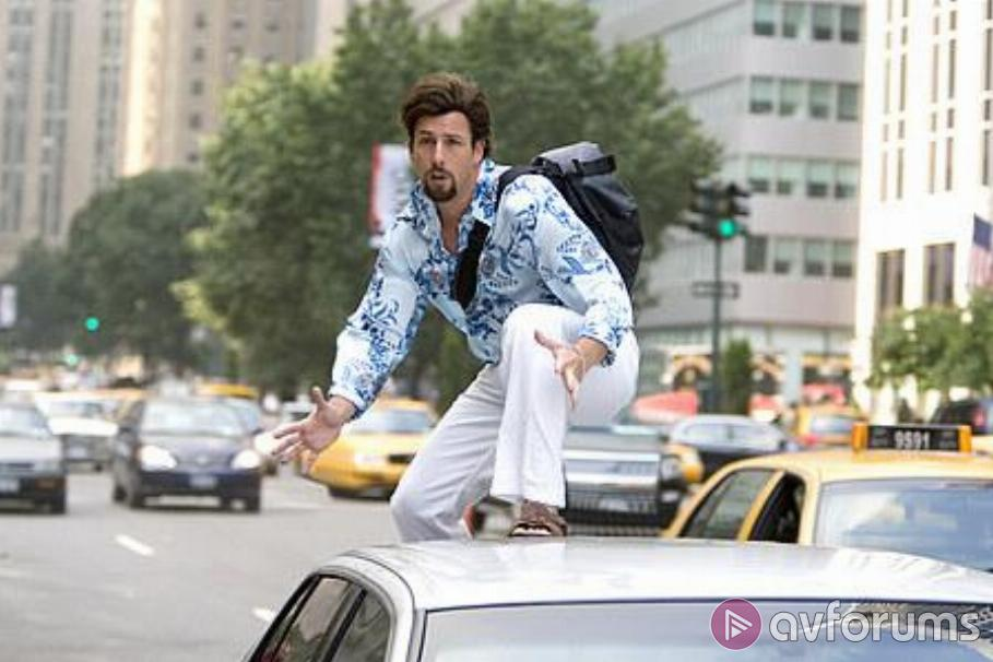 You Don't Mess with the Zohan Blu-ray Review