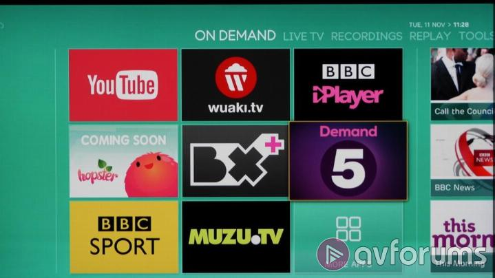 EE TV Catch Up & Streaming Services