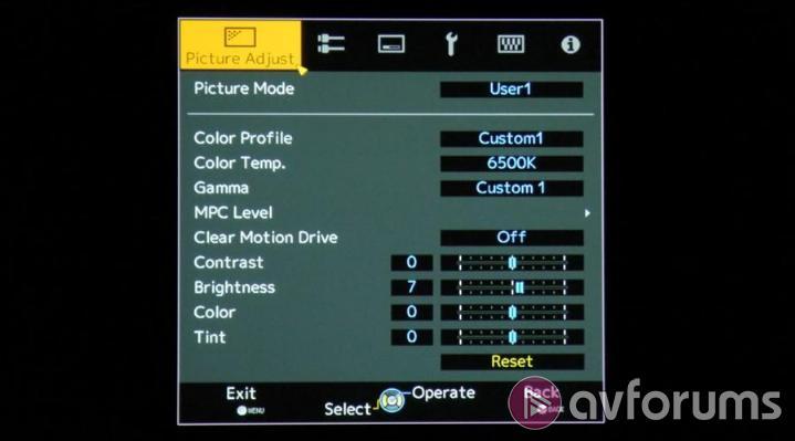 Jvc X500 Dla X500 3d D Ila Projector Review Avforums