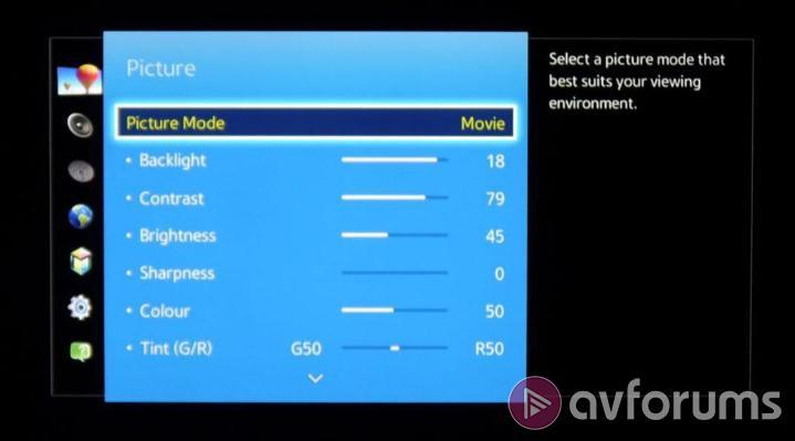 Samsung ue40h7000 h7000 led tv review avforums