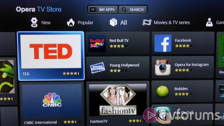 Finlux 55UT3E242S-T Finlux Smart TV apps and UI