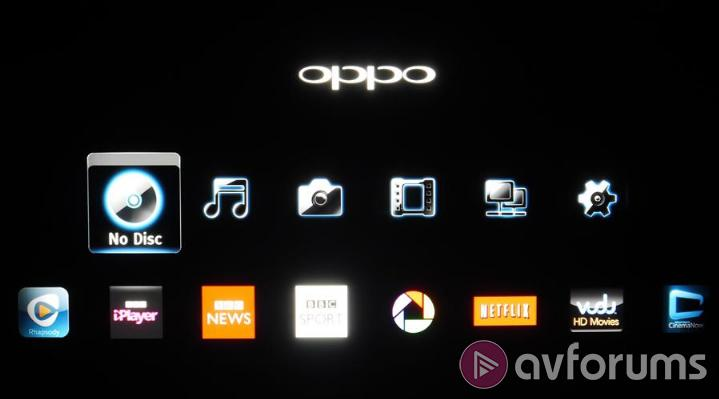 Oppo BDP-103D Features