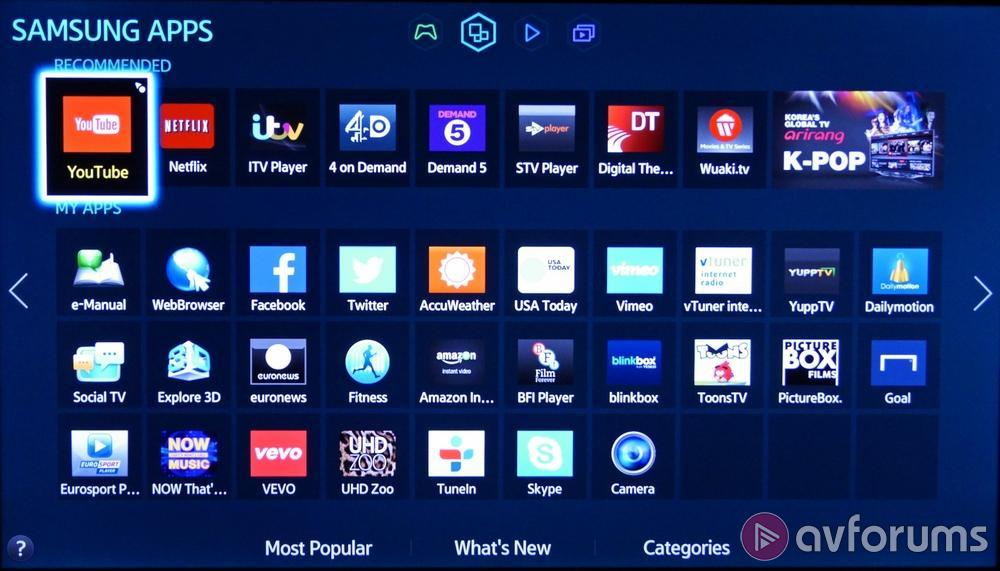 Samsung Smart Tv System 2014 Review