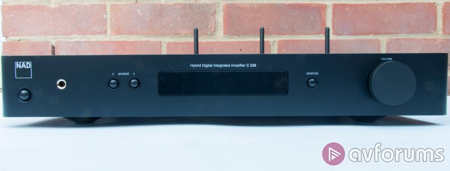 NAD C338 Integrated Stereo HiFi Amplifier Review | AVForums