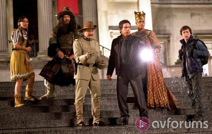 Night at the Museum: Secret of the Tomb Blu-ray Sound Quality