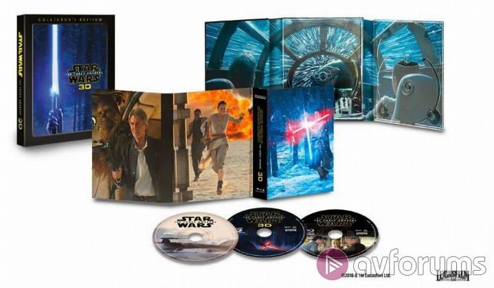 Star Wars: Episode VII - The Force Awakens 3D Collector