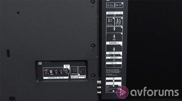 Sony KD-65XE9005 Connections & Control