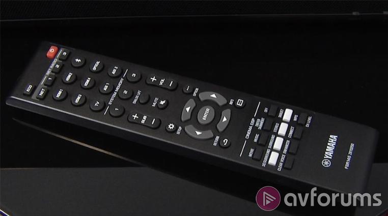Yamaha ysp 5600 dolby atmos soundbar review avforums for Yamaha remote control app