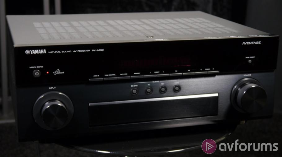 Yamaha RX-A850 7.2 AV Receiver Review