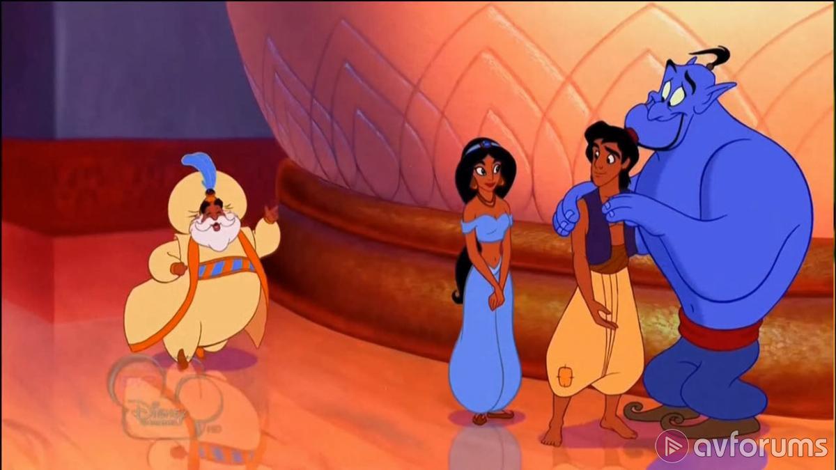 Aladdin 4K Blu-ray