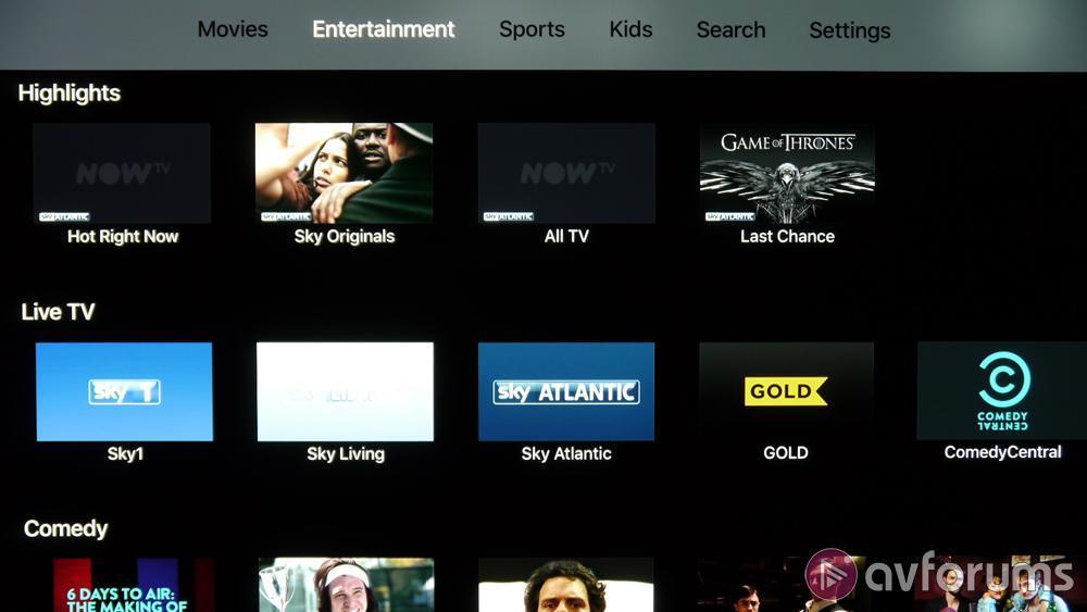 Apple TV 4K HDR Dolby Vision Media Player Streamer Review
