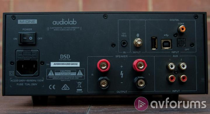 Audiolab M-One Integrated Amplifier Review | AVForums