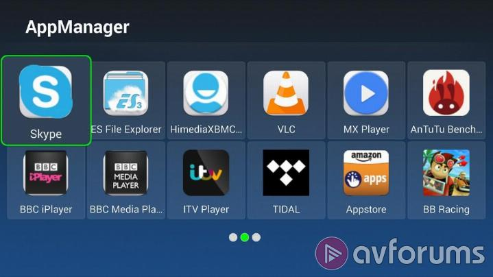 HiMedia Q5 User Interface