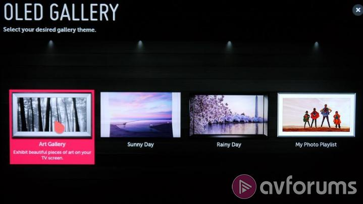 LG OLED65G7V Features & Specs