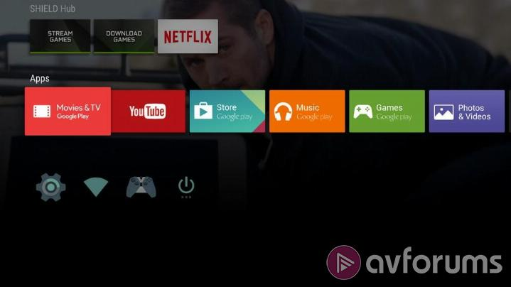 NVIDIA SHIELD Android TV Leanback Launcher