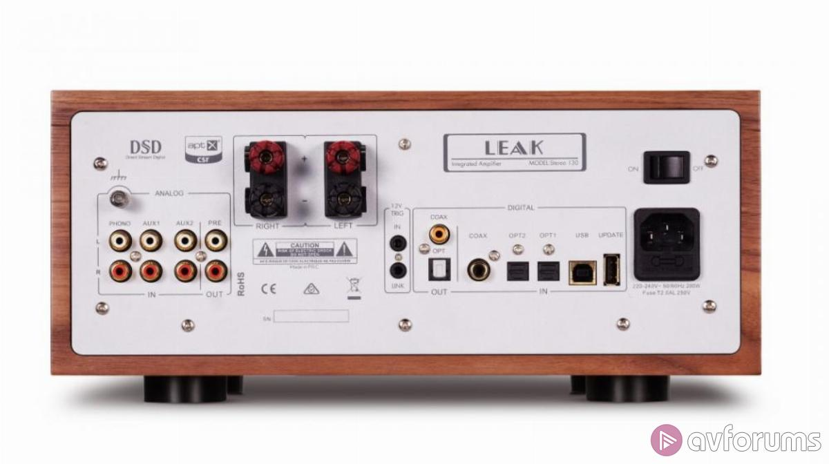 LEAK returns with Stereo 130 amplifier and CDT CD transport