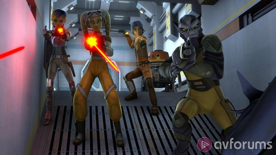 Star Wars Rebels: Complete Season One Review