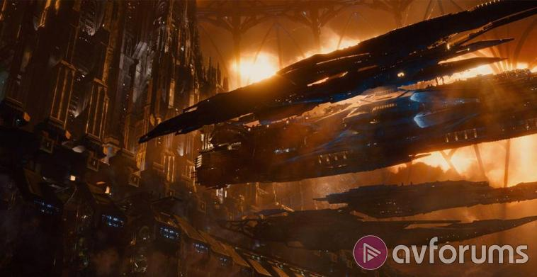 Jupiter Ascending Blu-ray Picture Quality