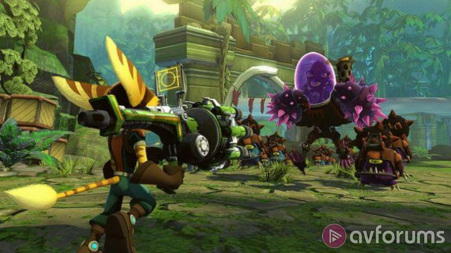 Ratchet & Clank: Full Frontal Assault PS3 Review