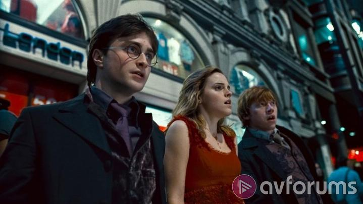 Harry Potter and the Deathly Hallows: Part 1 Picture Quality