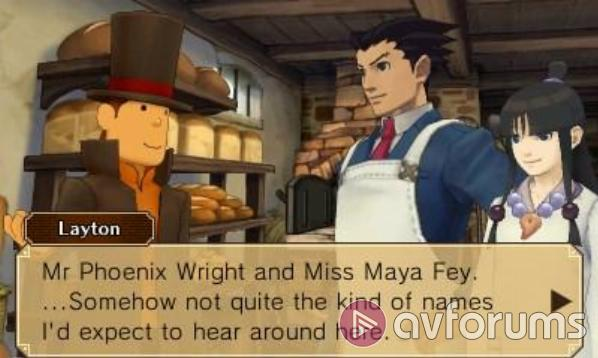Professor Layton vs. Phoenix Wright: Ace Attorney When two become one