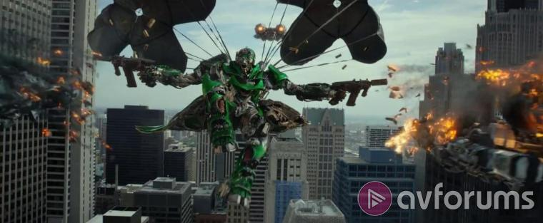 Transformers: Age of Extinction Blu-ray Sound Quality including Dolby Atmos