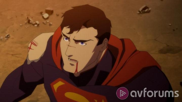 The Death of Superman The Death of Superman Blu-ray Sound