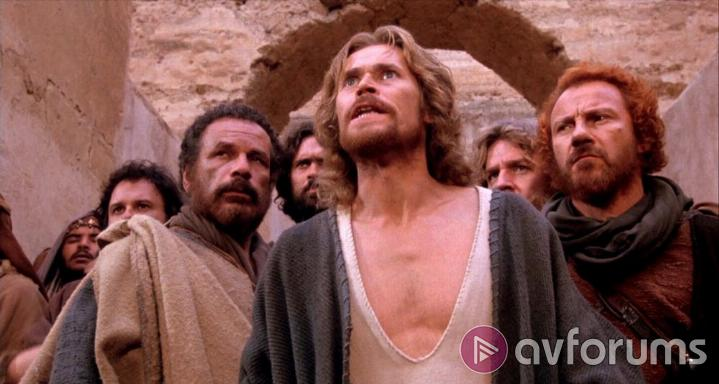 The Last Temptation of Christ The Last Temptation of Christ Blu-ray Sound