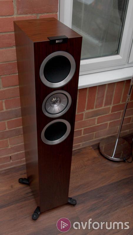 Kef R500 Floorstanding Hifi Stereo Speaker Review Avforums