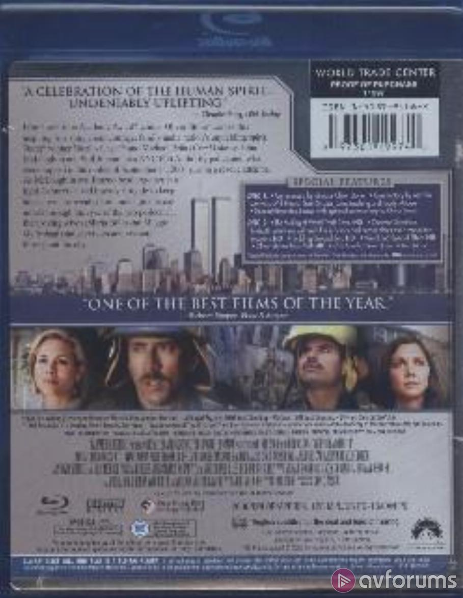 World Trade Center 2-Disc Commemorative Edition Blu-ray Review