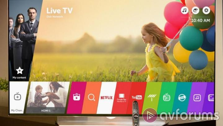 LG OLED55E6 Smart TV and Other Specs