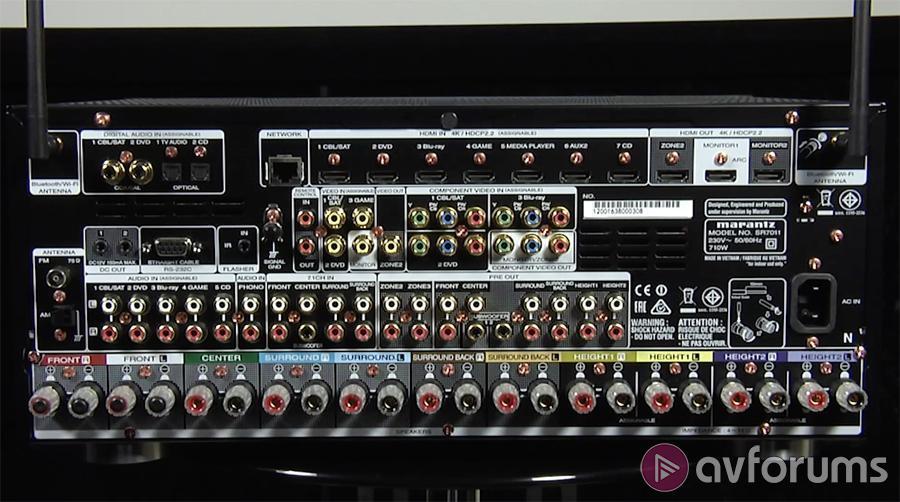 Marantz SR7011 Dolby Atmos AVR Review   Marantz SR7011 DTS:X