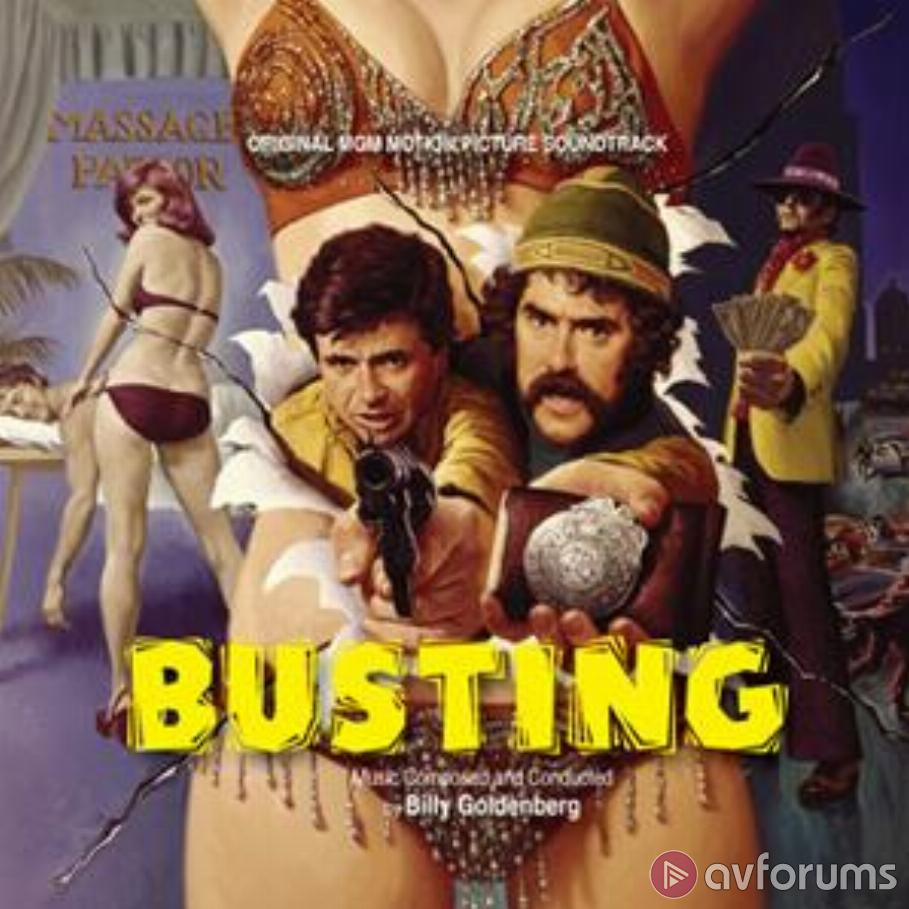 Busting - Original MGM Motion Picture Soundtrack Soundtrack Review